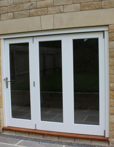3-leaf folding sliding doors