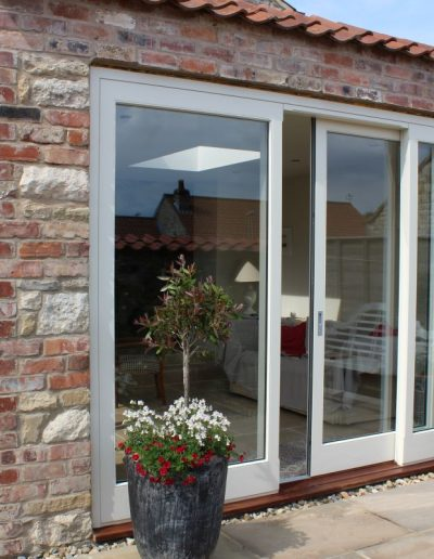Accoya sliding doors