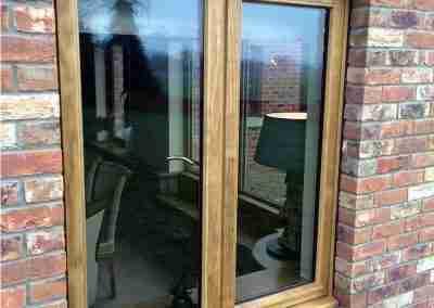 Stained Accoya Stormproof Casement Window