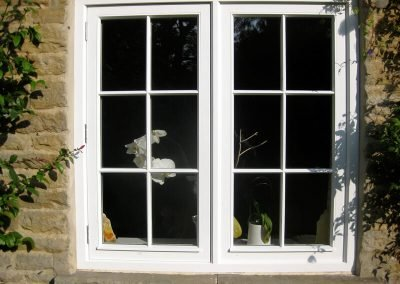 Traditional Casement Window with Inset Sashes