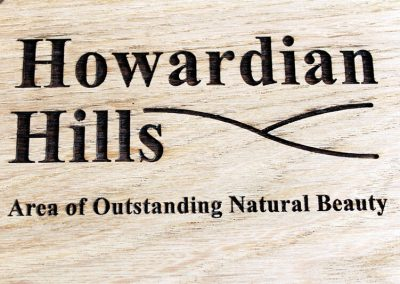 Howardian Hills Laser Engraved Logo