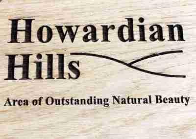 Howardian Hills Laser Engraved Logo