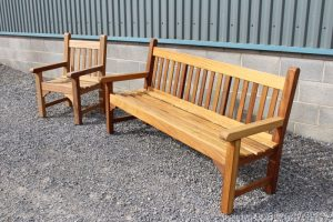 Garden seat and bench