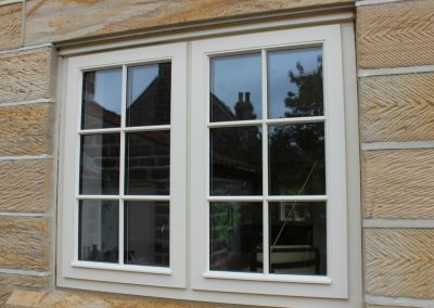 High Performance Stormproof Hardwood Window