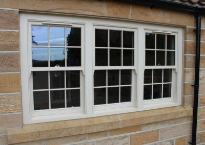 Hardwood Venetian Box Sash Window