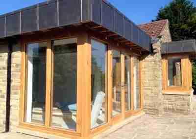 Oak Sunroom Frames