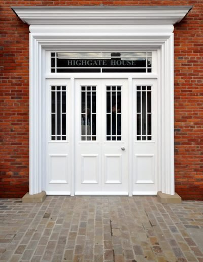 Bespoke Shopfront Entrance Door