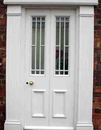 Special door and surround