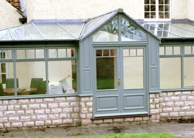 Wood conservatory
