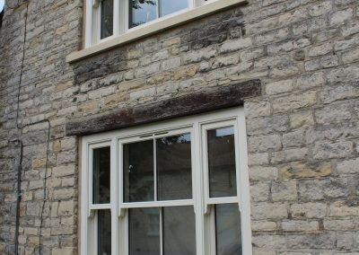 Venetian sash windows