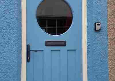 1930's style door