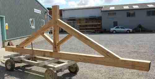 King post truss