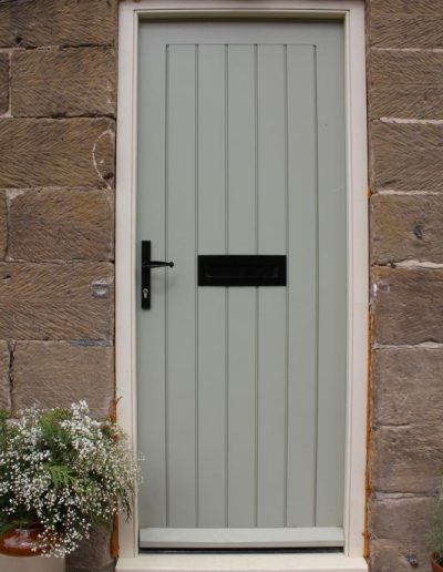 Accoya FLB door & frame