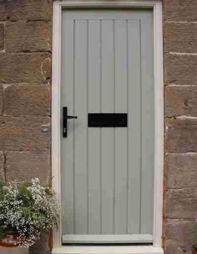 Accoya FLB door & frame