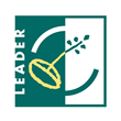 Green and White LEADER Logo