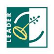Green and White LEADER Logo